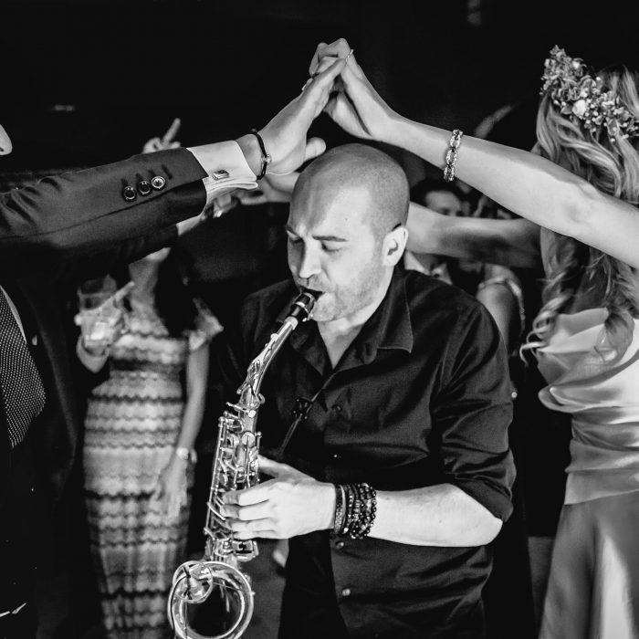 Saxophoniste espace Presse